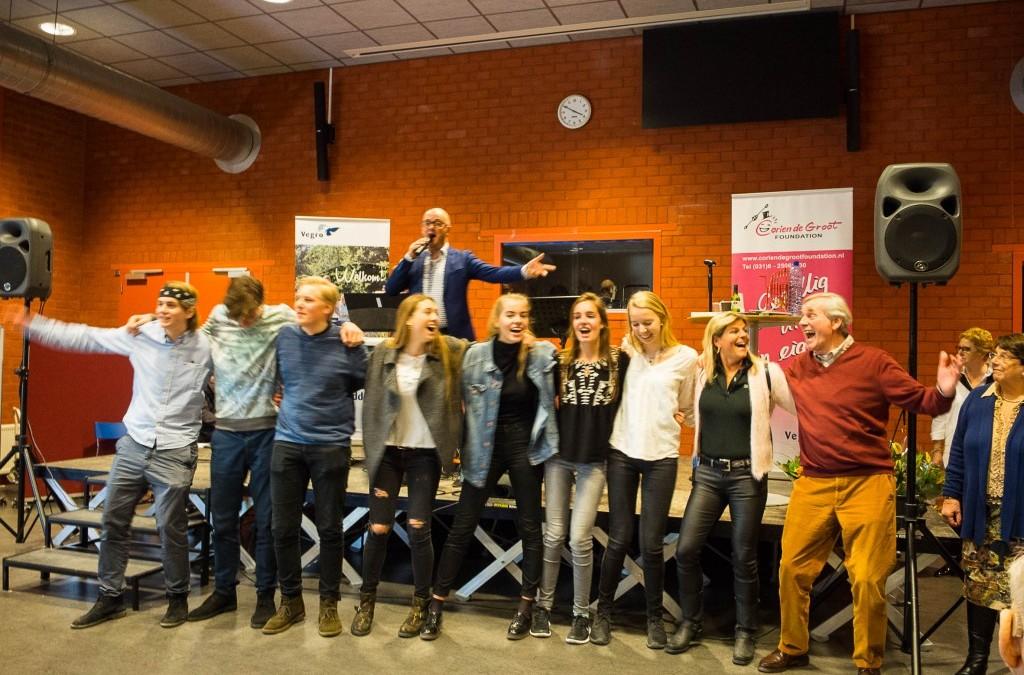 Optreden voor De Zonnebloem te Wassenaar