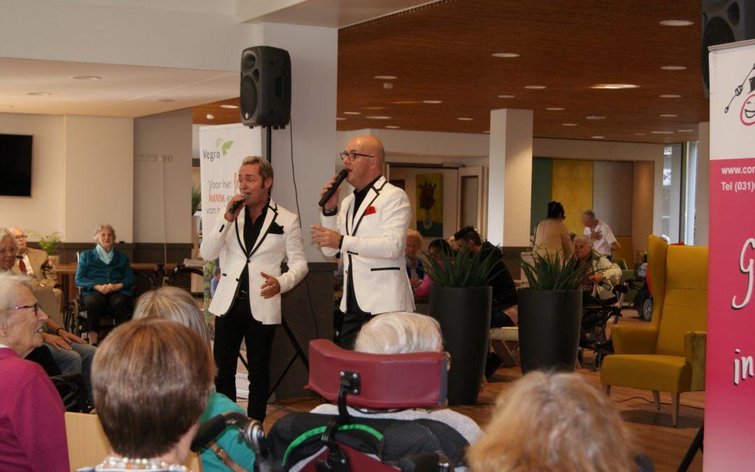 Optreden in de Prinsenhof in Leidschendam