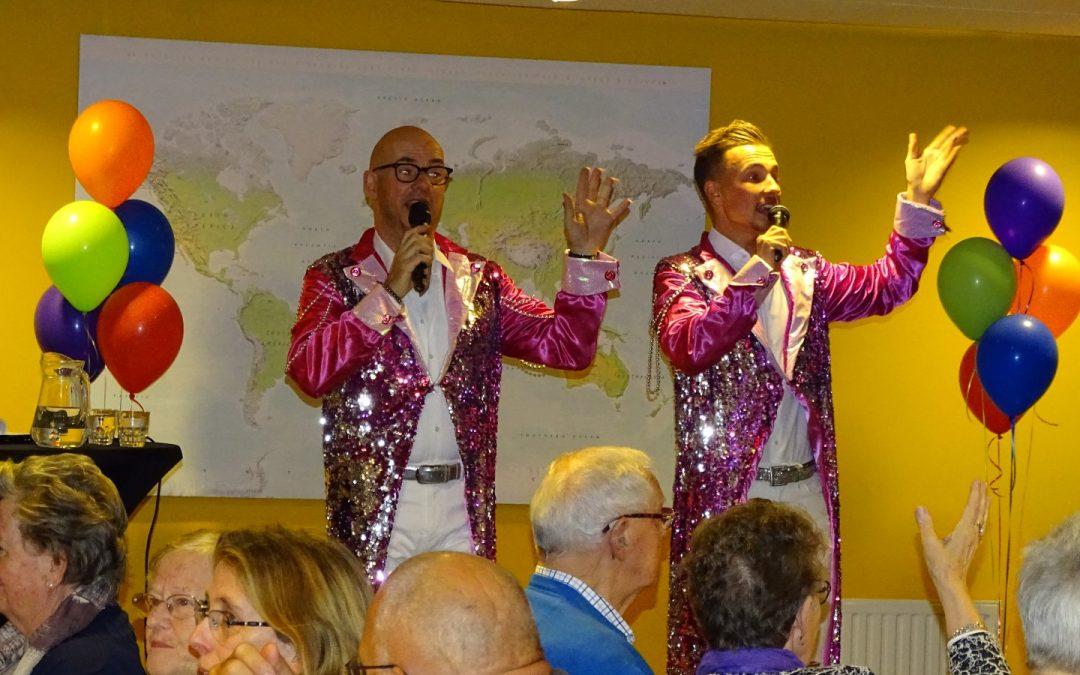 Optreden in Huys te Britten te Katwijk